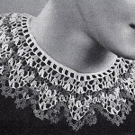 Festoon Collar by Free Vintage Crochet