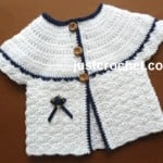 Matinee Coat for a Boy or Girl by JustCrochet