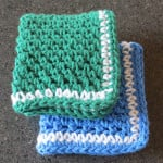 Linen Stitch Dishcloths by My Recycled Bags