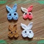 5 Minute Bunny Applique by Tera Kulling of Trifles N Treasures