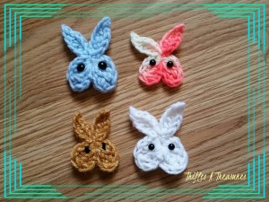 5 Minute Bunny Applique by Tera Kulling of Trifles N Treasures