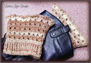 Amazing Grace Boot Cuffs by Beatrice Ryan Designs