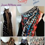 Basic Boho Crochet Scarf by Jessie At Home