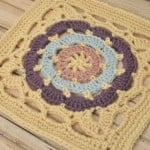 Cathedral Window Square by Lorene Eppolite of Cre8tion Crochet