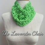 Clover Puff Cowl by Dorianna Rivelli of The Lavender Chair