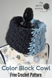 Color Block Cowl by The Stitchin' Mommy