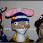 Colorado Bunny Beanie Hat by Sara Sach of Posh Pooch Designs