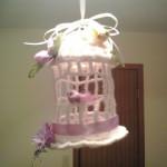 Decorative Birdcage by Crochet Fanatic