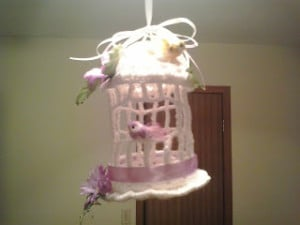 Decorative Birdcage by Crochet Fanatic