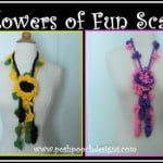 Flowers Of Fun Summer Scarf by Sara Sach of Posh Pooch Designs