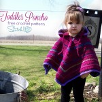 Toddler Hooded Poncho by Stitch11
