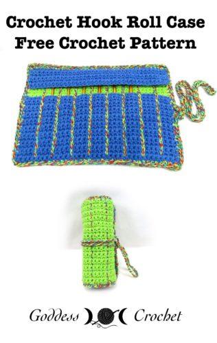Free Crochet Pattern Hook Case : Crochet Hook Roll Case by Goddess Crochet - Crochet ...