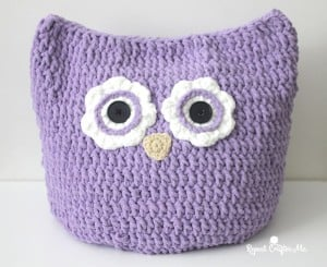 Oversized Owl Pillow by Repeat Crafter Me