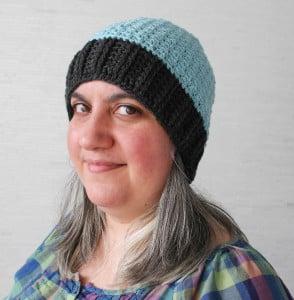 Pebble Stitch Hat by Marie Segares/Underground Crafter