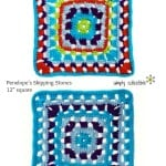 Penelope's Skipping Stones 12 Inch Square by Celina Lane of Simply Collectible