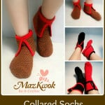 Collared Socks by Maz Kwok's Designs