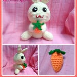 Happy Bunny Amigurumi by Maz Kwok's Designs