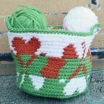 Shamrock Basket by Divine Debris