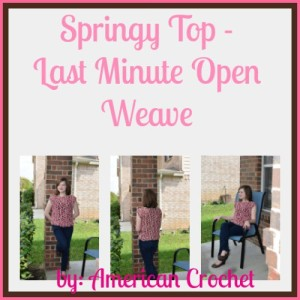 Springy Top by American Crochet