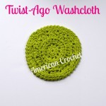 Twist-Ago Washcloth by American Crochet