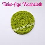 Twist-Ago Washcloth by American Crochet