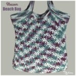 Blossom Beach Bag by Rhelena of CrochetN'Crafts