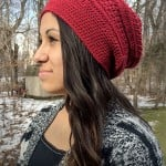 The Marion Slouch by Rebecca Langford of Little Monkeys Crochet
