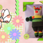 Funmigurumi Stripers: Spring Love Bug by Craftybegonia's Funmigurumi And Kids Stuff