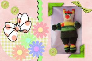 Funmigurumi Stripers: Spring Love Bug by Craftybegonia's Funmigurumi And Kids Stuff