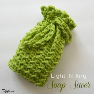Light 'N Airy Soap Saver by Rhelena of CrochetN'Crafts