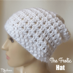 The Frolic Hat by Rhelena of CrochetN'Crafts