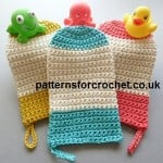 Wash Mitt by Patterns For Crochet