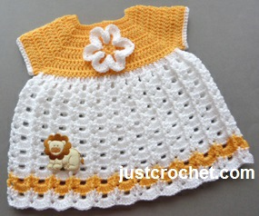 Sunshine Dress by JustCrochet