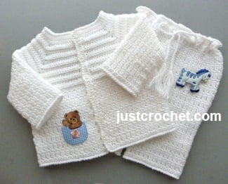 Boys Christening Outfit By Justcrochet Crochet Pattern