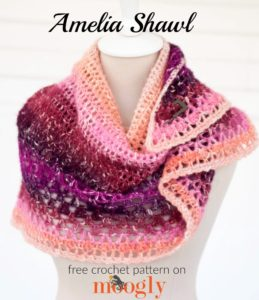 Amelia Shawl by Moogly