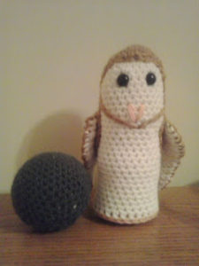 Barn Owl Bowling Set by Crochet Fanatic