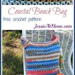 Coastal Beach Bag by Jessie At Home