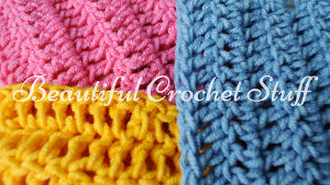 3 Ways To Make A Double Crochet Stitch by Jane Green of Beautiful Crochet Stuff