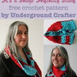 It's a Snap! Infinity Scarf by Marie Segares/Underground Crafter