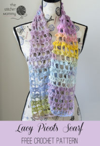 Lacy Picots Scarf by The Stitchin' Mommy