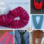 Linked Heart to Heart Scarf and Cowl by Snappy Tots