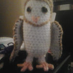 Little Barn Owl by Crochet Fanatic