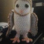 Little Barn Owl by Crochet Fanatic