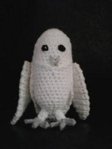 Little Snow Owl by Crochet Fanatic