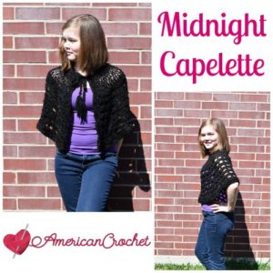 April Capelet by American Crochet