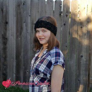Stripie Headband by American Crochet