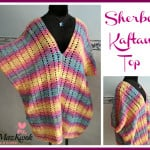 Sherbet Kaftan Top by Maz Kwok's Designs
