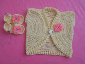 Sandal for Babies /New Summer Vest by aamragul of Crochet/Crosia Home