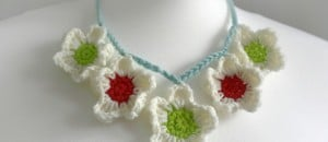 Blossom Crochet Necklace by WoolnHook