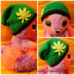 Canna Beanie by Manda Proell of MandaLynn's Crochet Treasures